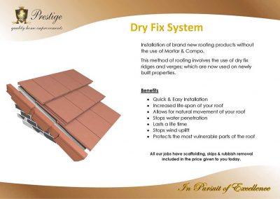 DRY-FIX-SYSTEM